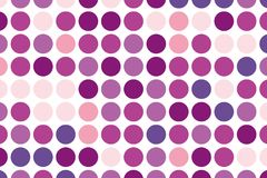 Dotted background with circles, dots, point large scale. Design element for web banners, posters, cards, wallpapers, sites. Vector illustration Stock Illustration