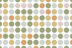 Dotted background with circles, dots, point large scale. Design element for web banners, posters, cards, wallpapers, sites. Vector illustration Royalty Free Illustration