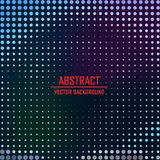 Dotted background. Vector Illustration. Royalty Free Stock Photo