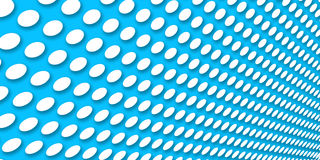 Dotted blue background Stock Photo