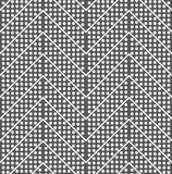 Dotted chevron with lines Royalty Free Stock Images
