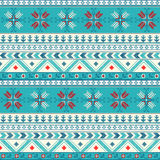 Dotted Christmas. Traditional christmas knitted ornamental pattern for design Royalty Free Stock Photography