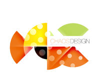 Dotted circles, abstract background. Dotted circles, abstract vector background Stock Image