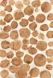Dotted coffee background Royalty Free Stock Image