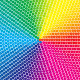 Dotted colorful background  Royalty Free Stock Photo