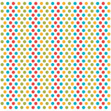 Dotted colors background icon Royalty Free Stock Image