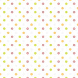 Dotted colors background icon Stock Photography