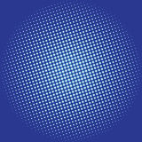 Dotted disco vector background Stock Images