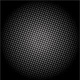 Dotted disco vector background Stock Image