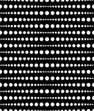 Dotted, dots pattern, background. Seamlessly repeatable both sid Royalty Free Stock Image