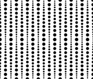 Dotted, dots pattern, background. Seamlessly repeatable both sid Stock Images