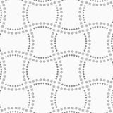 Dotted doubled rectangles Royalty Free Stock Photos
