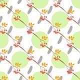 Rosa canina seamless pattern Stock Image