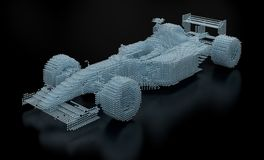 Dotted Formula One Mesh Stock Photography