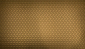 Dotted Golden Texture Royalty Free Stock Photo
