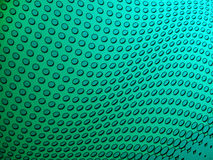 Dotted greenish background. Digitally created dotted wavy greenish background Stock Photography