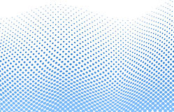 Dotted halftone background stock illustration