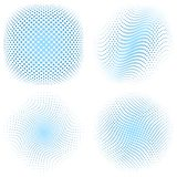 Dotted halftone background Royalty Free Stock Photos