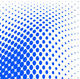 Dotted halftone background Royalty Free Stock Photo
