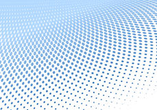 Dotted halftone background Royalty Free Stock Photography