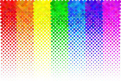 Dotted halftone background Royalty Free Stock Images