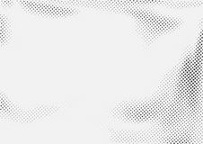 Dotted halftone black and white retro layout. Abstract pop art s. Tyle page background template. Vector illustration royalty free illustration