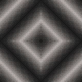 Dotted halftone pattern, square abstract texture Royalty Free Stock Images