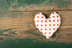 Dotted heart Royalty Free Stock Image