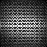 Dotted metal background design Stock Images