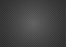 Dotted Metallic Texture Stock Image