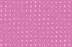 Dotted pattern with circles, dots, point large scale. Design element for web banners, posters, cards, wallpapers, sites, panels. Pink color stock illustration