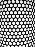 Dotted pattern, detail of a lampshade Royalty Free Stock Photo