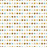 Dotted pattern. Modern stylish texture. Stock Photography