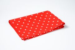 Dotted place mat Royalty Free Stock Images