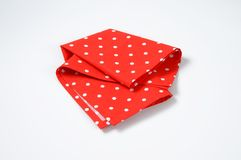Dotted place mat Stock Photo