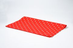 Dotted place mat Stock Image