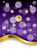 Dotted Purple background Royalty Free Stock Photos