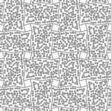 Dotted rectangle filled with dots Stock Images