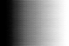 Dotted retro backdrop, panels with dots, points, circles, rounds. Comic pattern. Black and white color. vector illustration