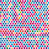Dotted seamless background Royalty Free Stock Image