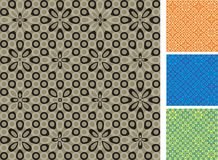 Dotted Seamless Background Stock Image