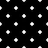 Dotted seamless pattern, black & white geometric abstract textur Stock Photo
