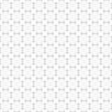 Dotted seamless pattern with circles and nodes Stock Photos
