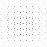 Dotted seamless pattern with rhombus and nodes Royalty Free Stock Photo