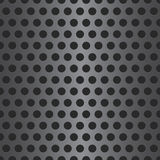 Dotted Seamless Steel Background Stock Photos