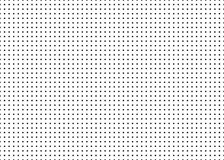 Dotted simple seamless vector pattern. Royalty Free Stock Photo