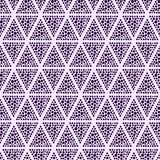 Dotted Triangle Seamless Background Royalty Free Stock Photos