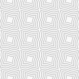 Dotted wavy squares Royalty Free Stock Photography