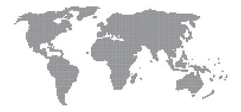 Dotted World Map. Illustration Vector Dotted World Map Stock Illustration