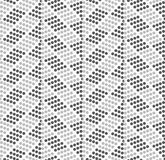 Dotted zigzag with dark and light dots Royalty Free Stock Images